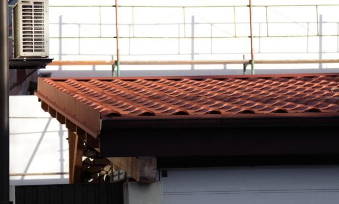 Dacheindeckung Garage